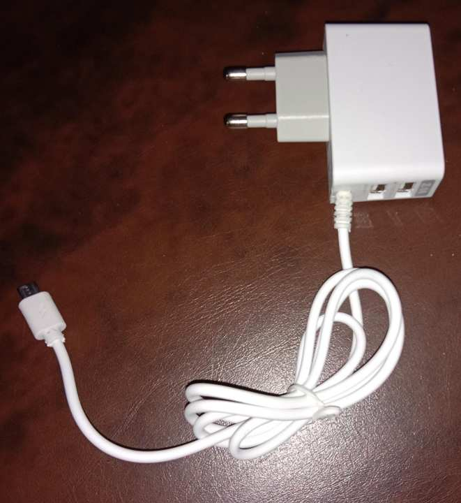 Fast Mobile Charger with two USB Ports
