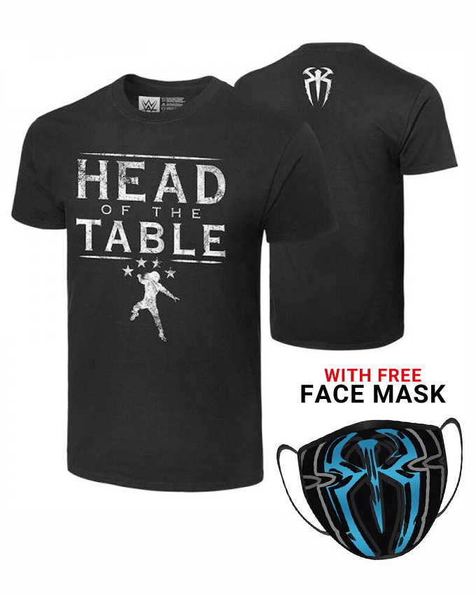 Roman Head Of The Table Cotton Printed T-Shirt