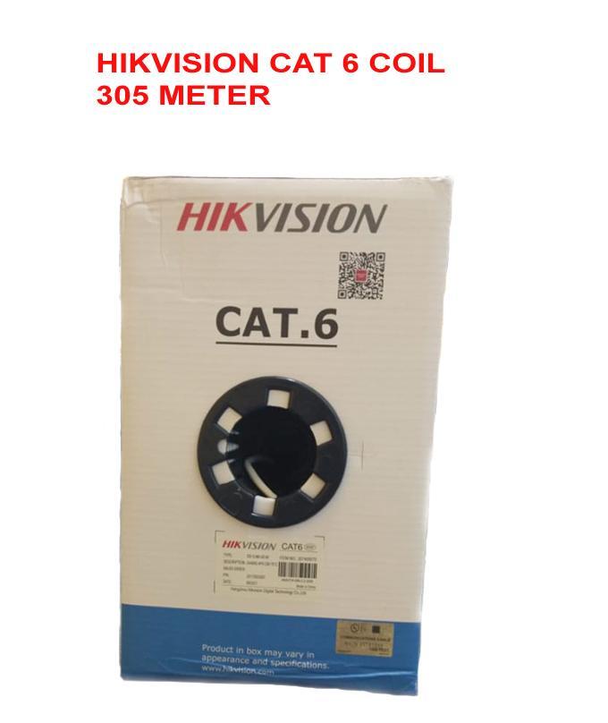 HIK VISION CAT 6 cable