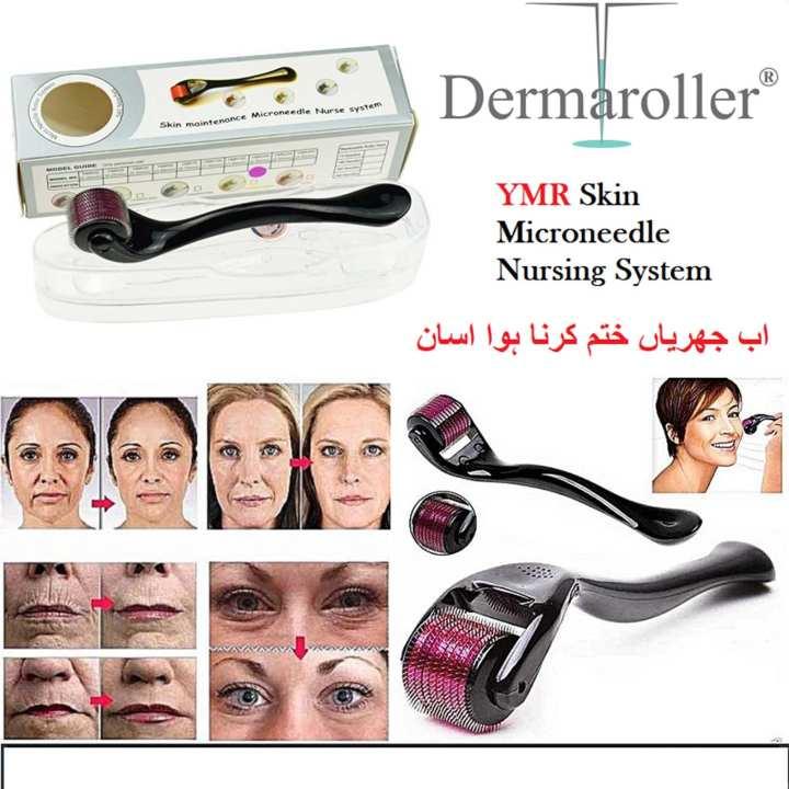 Dermaroller YMR 0.5 Titanium Micro Needles Derma Roller