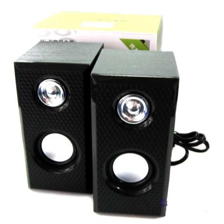 Hi-Fi Mini USB Speaker M-006 Stereo Sound Speaker For Mp3/Mp4 and Other Devices - Black