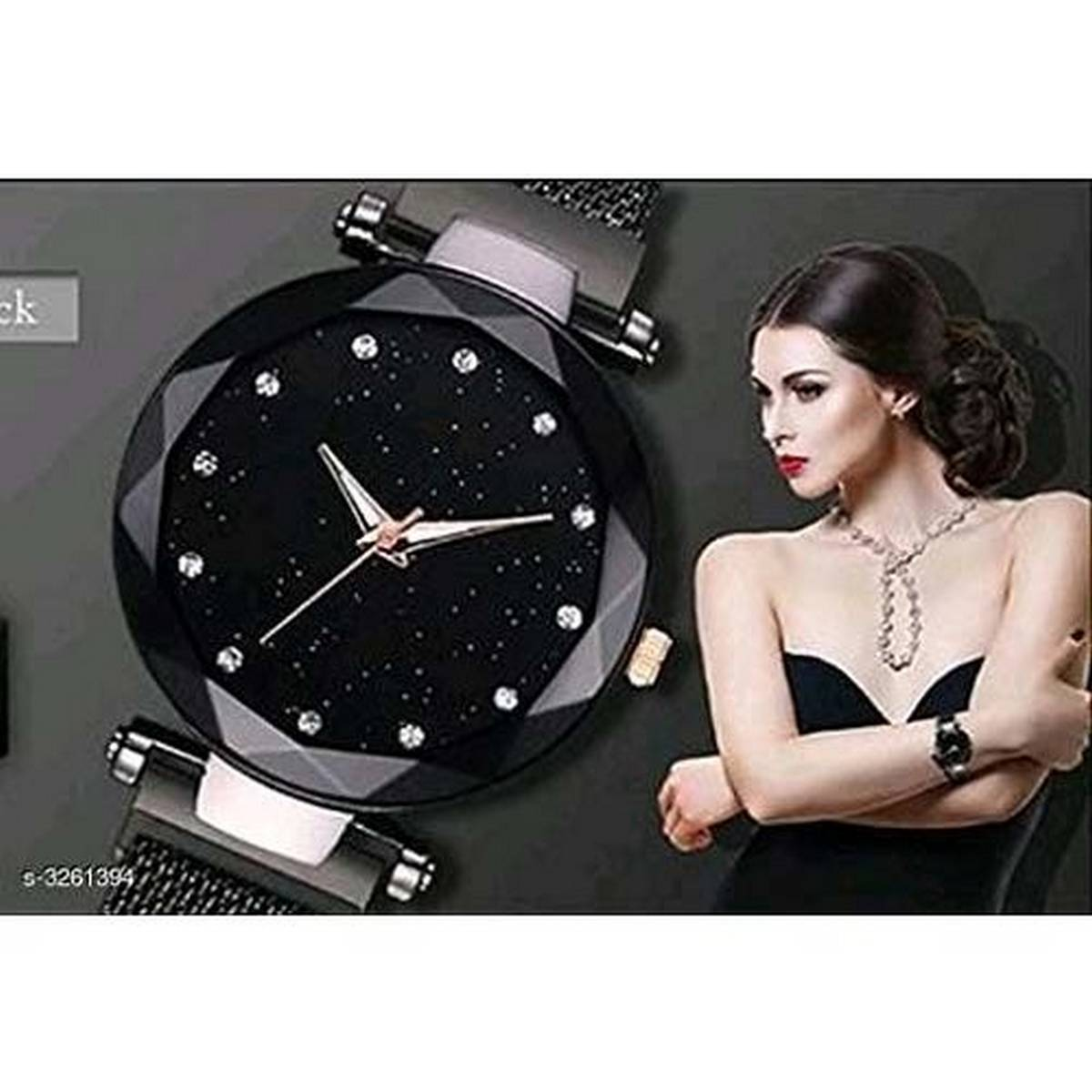 Eastern Cute And Classy Magnetic Ladies Wrist Watch -F63772