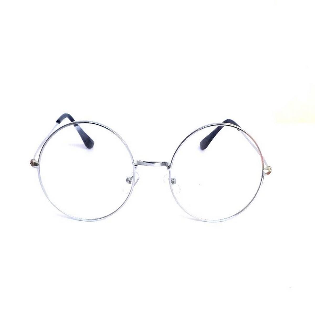 Sunglasses for  women Round Circle excellent transparent lens Gold Metal frame stylish Sun glasses
