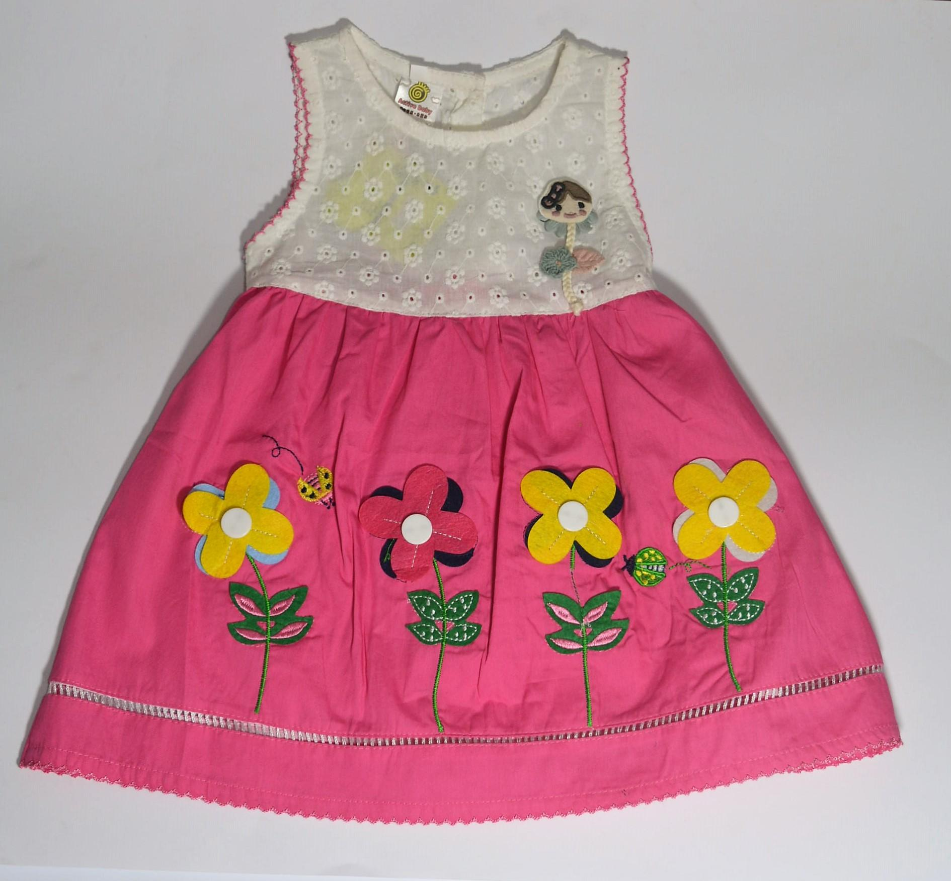 f06289c83d3 GMA MART BABY GIRL COTTON FROCK WITH INNER