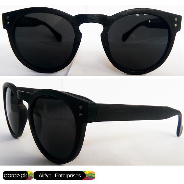 Imported Optical Sun Glasses - Men Women Me Too Oval Cat Uniform Shape Texture Matte Frame Style Fashion Glasses Black