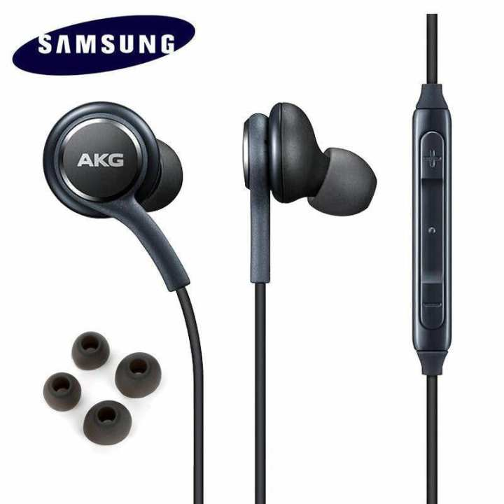 AKG High Quality Handsfree Headphones Earphones For Samsung Galaxy S9 S8 Plus Note 8 - Handfree