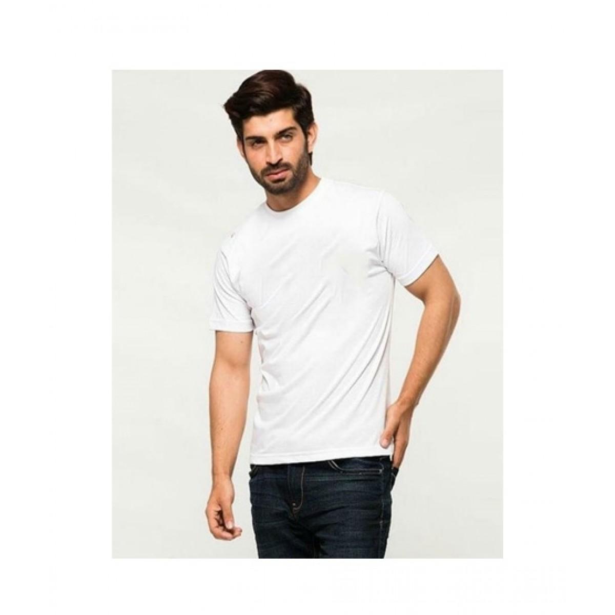 The Vintage Clothing Plain basic imported white t shirt