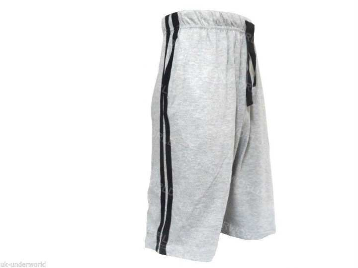 Mens Short Lounge Pants Casual Shorts Cotton Pyjama Bottoms Pyjamas Nightwear