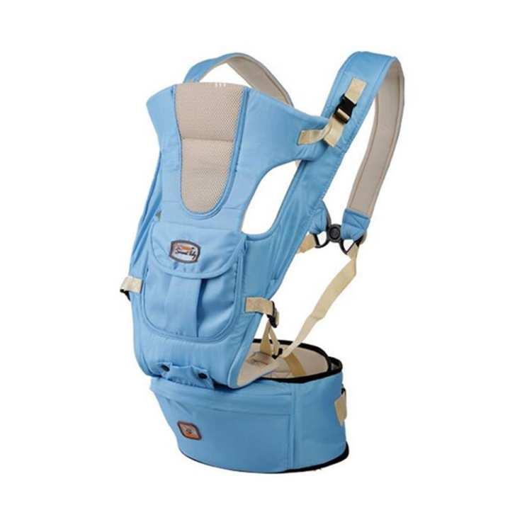 Baby Carrier Infant Kid Sling Adjustable Breathable Ergonomic Wrap Backpack New#blue