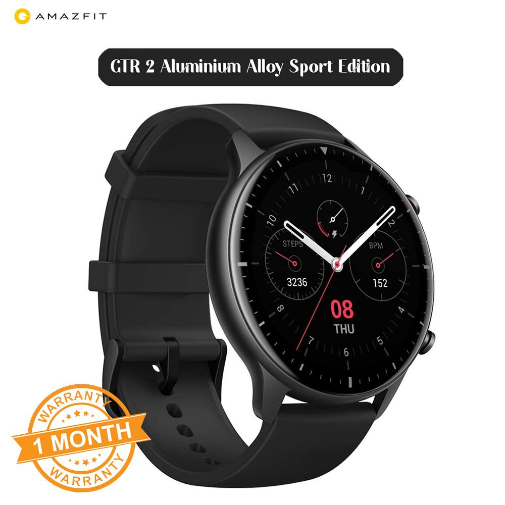 Amazfit GTR 2 Smartwatch with Alexa Built-in Aluminium Alloy Sport Edition