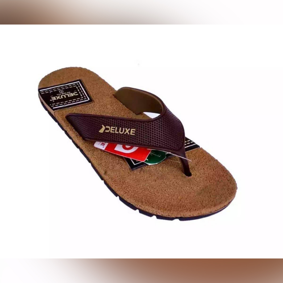 DELUXE CASUAL BROWN CHAPPAL FOR MEN WITH LATEST DESIGN
