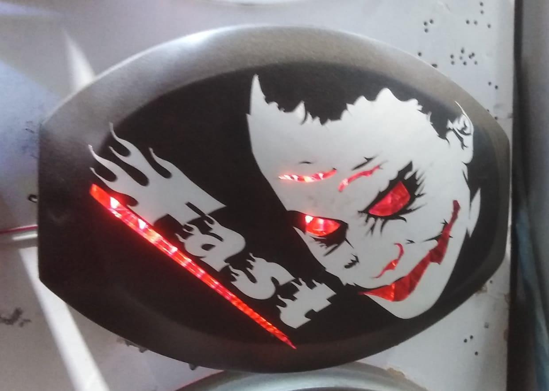 Joker light cover