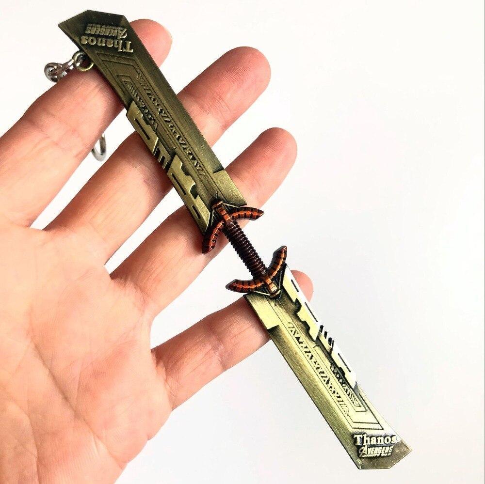 Marvel Thanos Blade Metal Keychain - Endgame