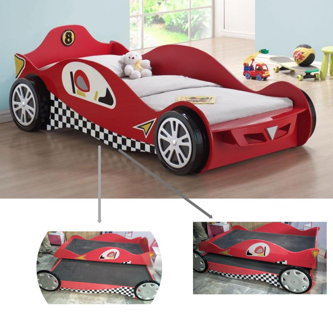 Kids Racing Car Bed With 2nd Sliding Bed Buy Online At Best Prices In Pakistan Daraz Pk