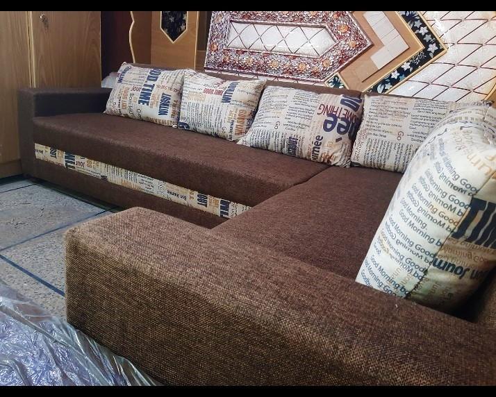 Luxury L Shape Sofa Set