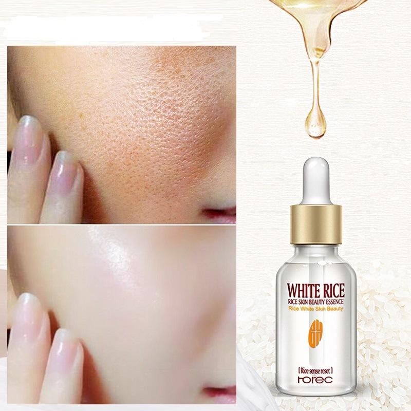 Rorec White Rice Serum For Face Best for Anti-Ageing Anti-Wrinkle Acne Treatment Skin Care Moisturizing Beauty Serum 15ml, Original
