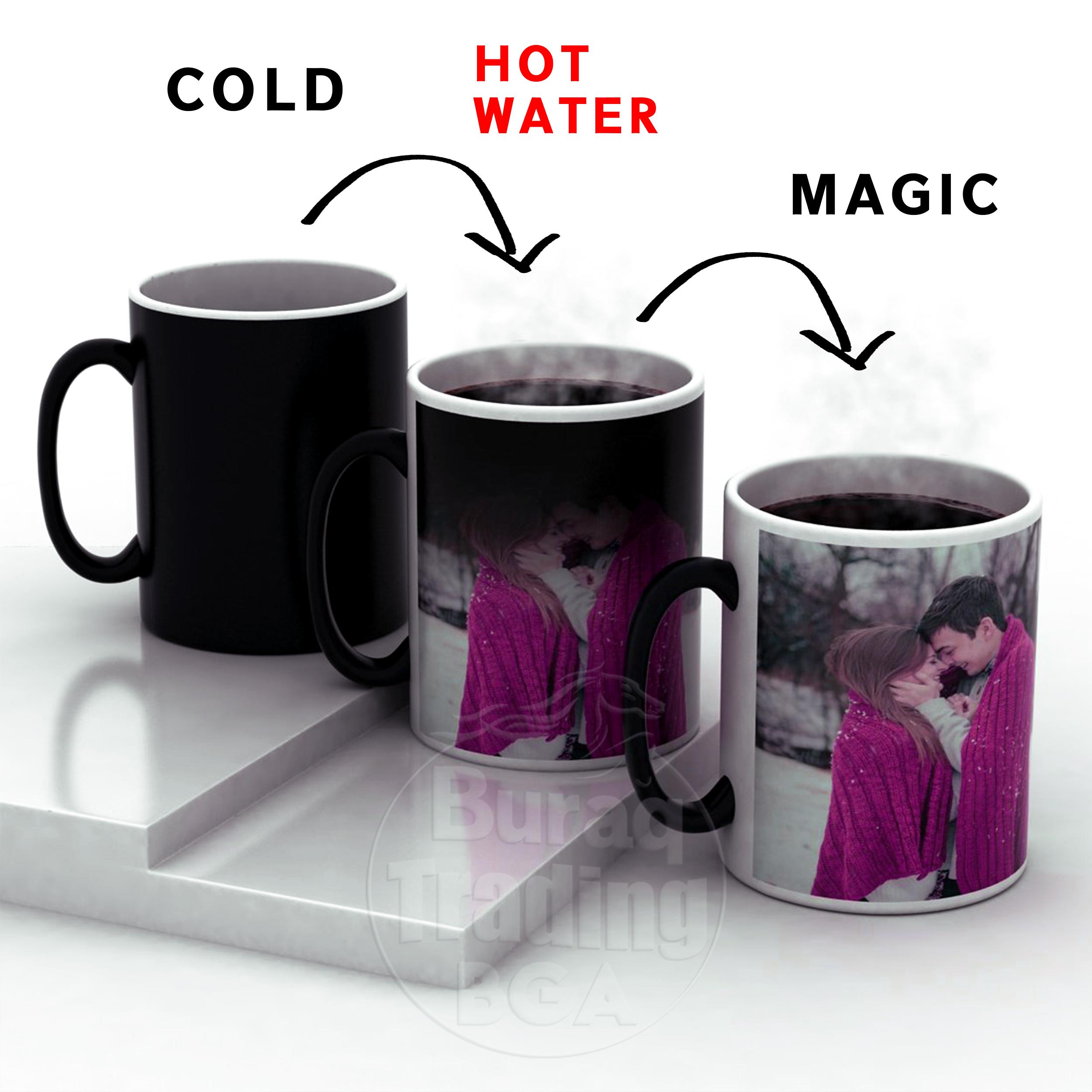Color Changing Magic Mug Personalized Photo 325 Ml Buy Online At Best Prices In Pakistan Daraz Pk