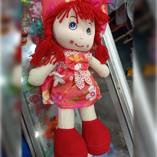 Elegant Stuffed Doll for Girls - 15 Inches Kids Doll