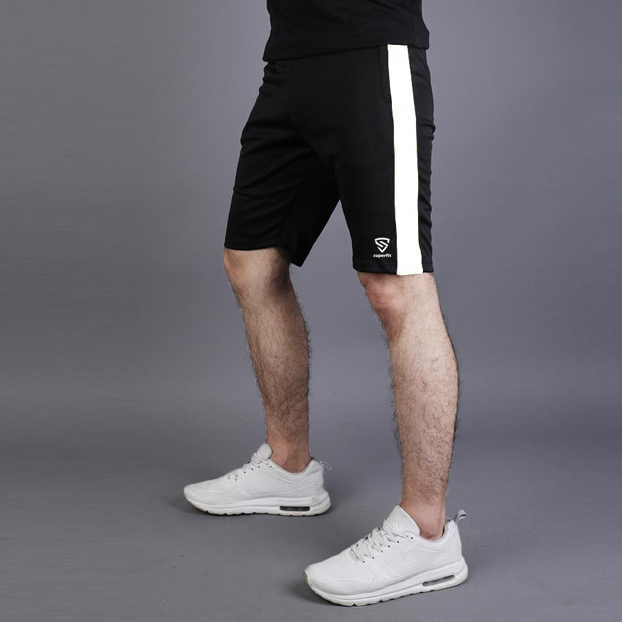 Men Performance Running Sports Shorts Gym Fitness