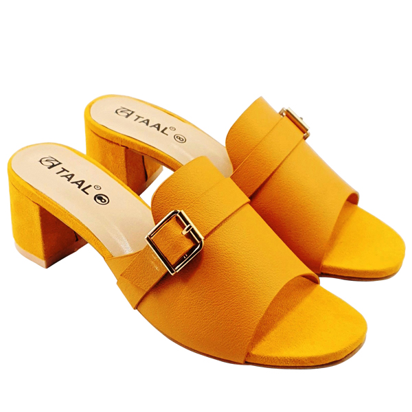 Comfortable and Stylish Block Heel   TAAL SHOES