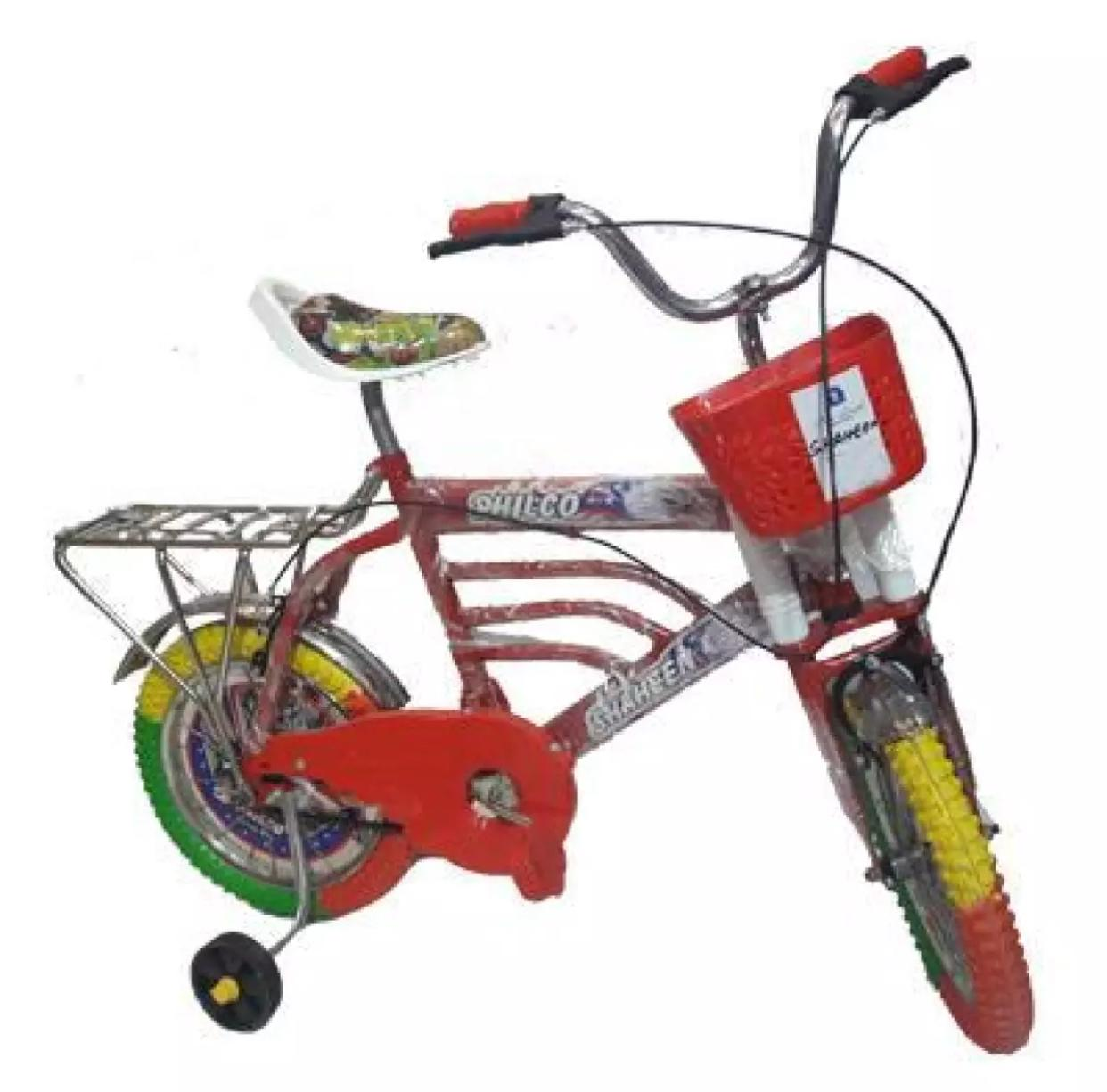 Shaheen 16  Inch Two Wheeler With Brakes Double Chimtta Cycle For Kids Seat adjustable