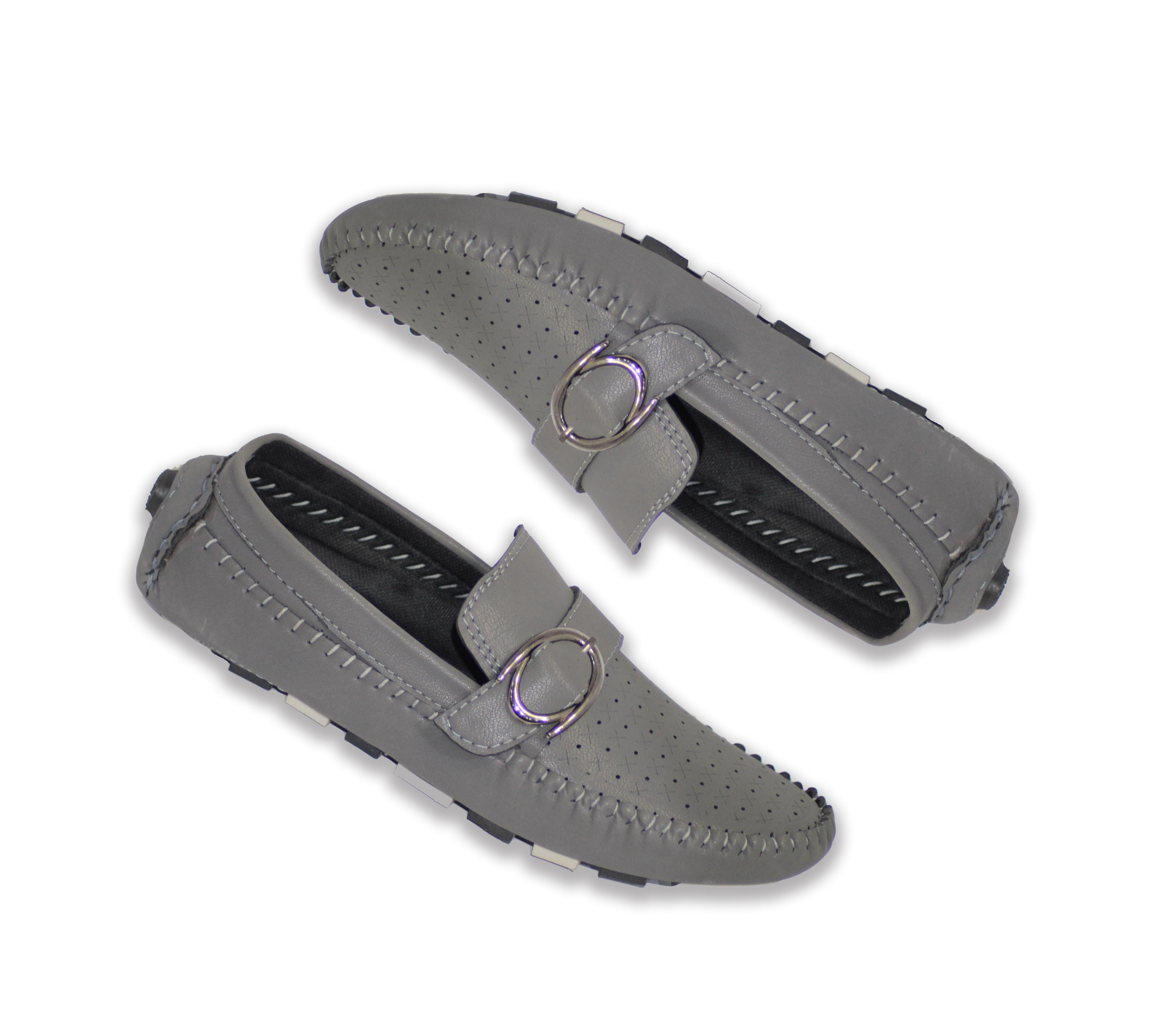 grey casual shoes