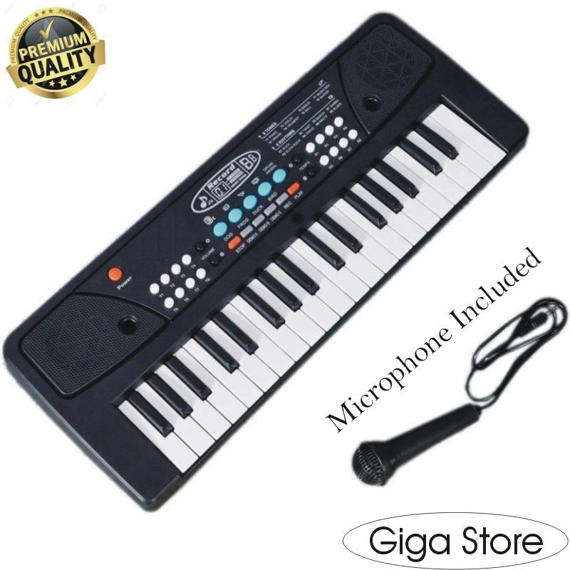 Electronic Piano with Microphone 37 keys for kids