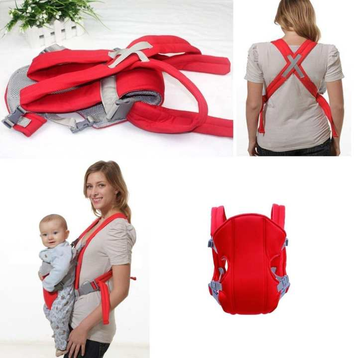 Carrier/Sling for Baby for 6 Months to 2 Yrs (Multicolour)