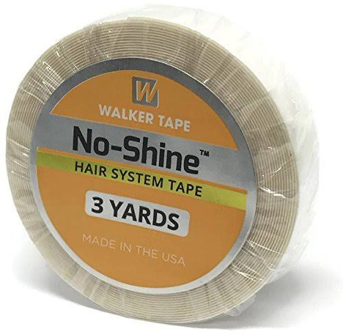 """Walker's NoShine Tape, 3/4""""x3Yds(9Feet), No Shine Wig Tape, Lace Wig Tape, NoShine Tape For Front Lace of Wigs, Wigs Double Tape, Hair Extension Tape, Hair Wig Tape"""