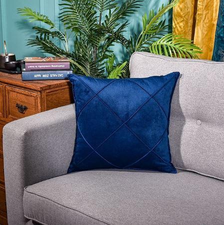 Velvet Cushion Cover_Size 15x15 inch