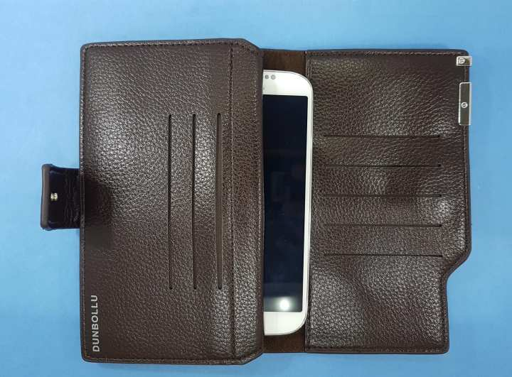 Universal Wallet Designed for 5 Inches Smart Phones Money and Cards