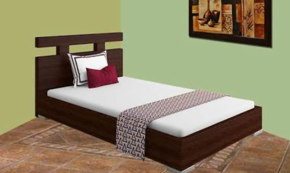 Single Bed vip Without Mattress D-22