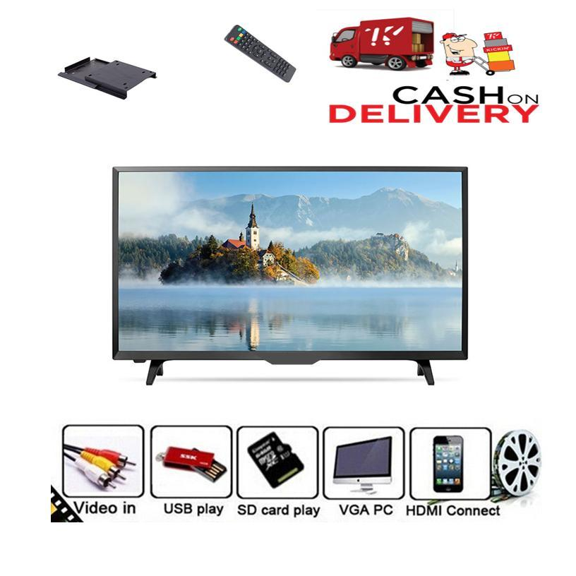 Led Tv 22'' Inch Full High Definition Led Tv H D 1080 P/720 P With Wall  Bracket Free