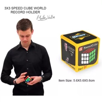 Original Rubiks Cube 3x3 - Best Quality Speed Cube -  Qiyi Magic Cube 3x3x3 - Fast Speed Puzzle Toys - Educational Toy to Improve Child's Concentration, responsiveness and Memory - Rubik's Cube