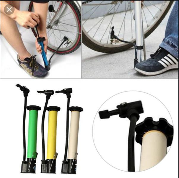12 Inch Hand Air Pump For Bicycle Bike Car Tyre, Football, Volleyball, Kids Pools, Basket Ball Multipurpose