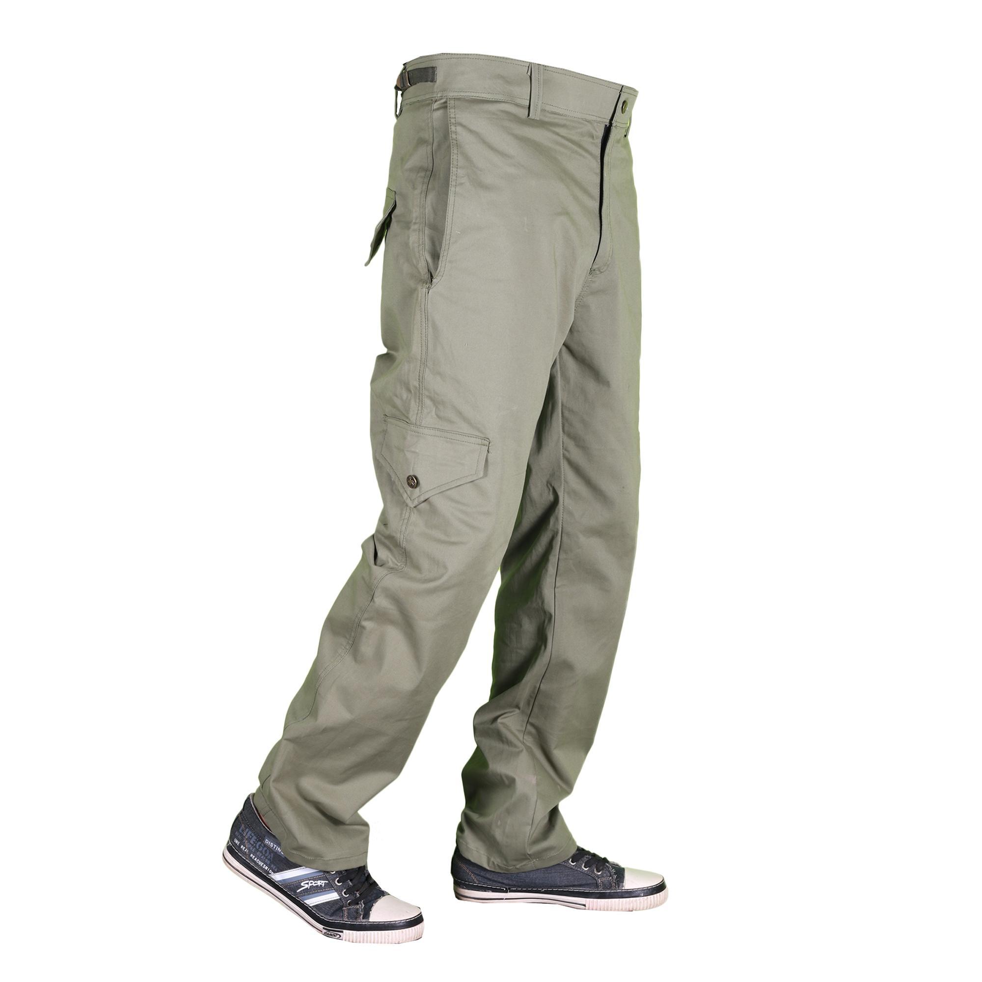 Men's New Modern Arabic Cotton Cargo Trouser - Cargo Pants