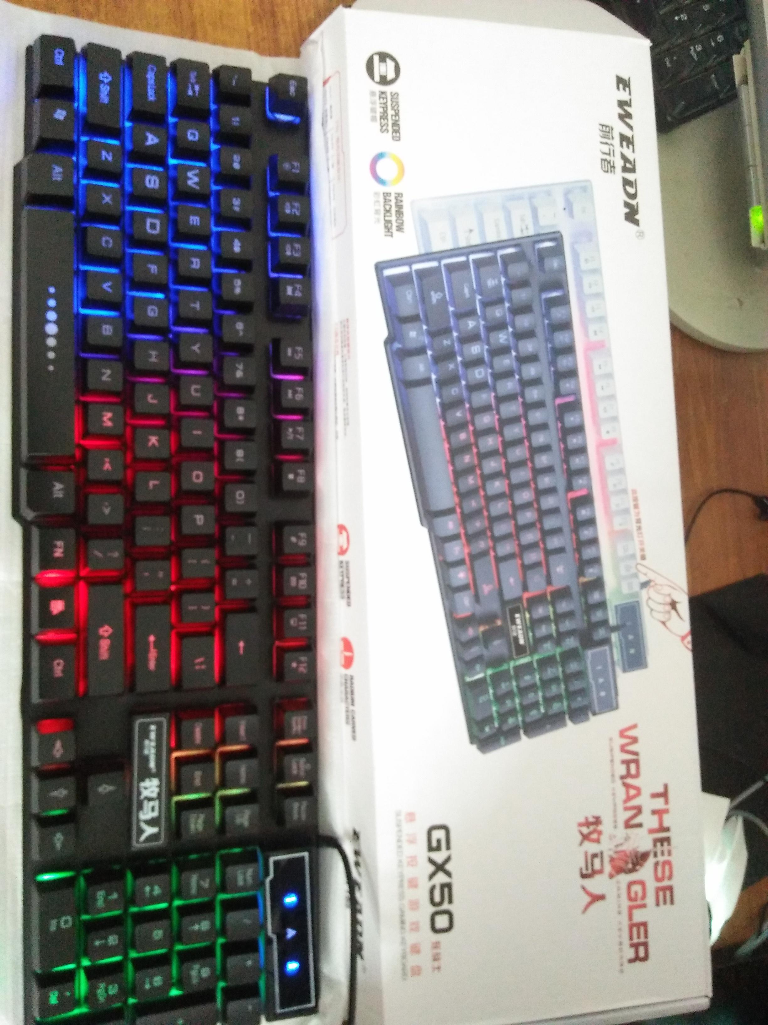 EWEADN Gaming Keyboard GX-50