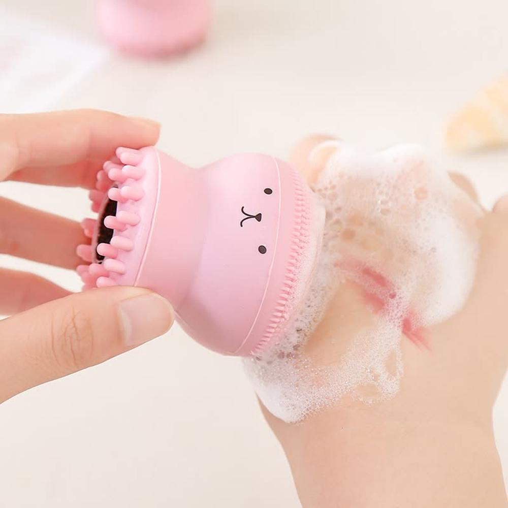 Face Scrub Washing Brush Skin Care Octopus Shape TSLM1