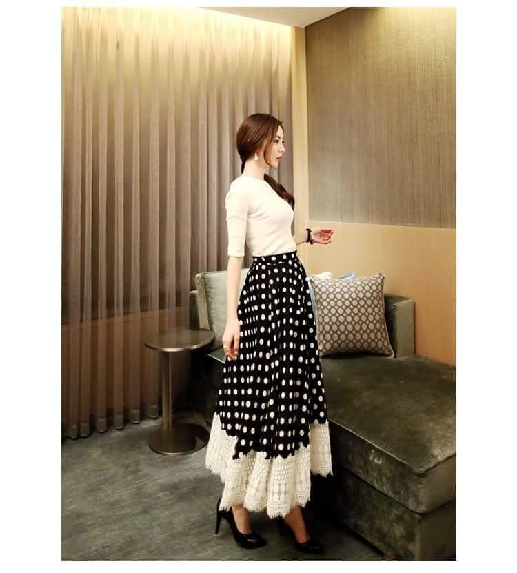 Polka Dot Maxi Dress 2020: Buy Online at Best Prices in Pakistan | Daraz.pk