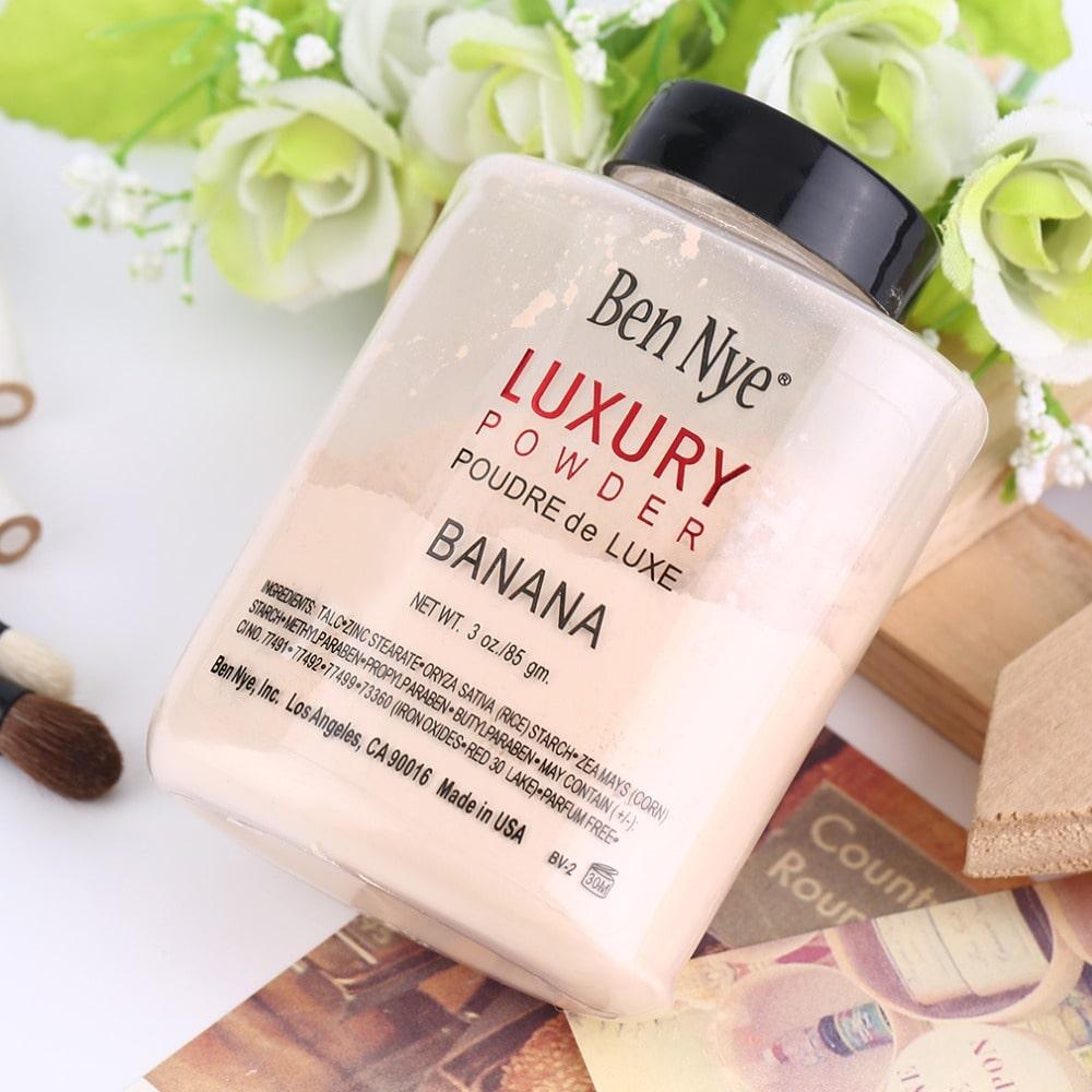 Ben Nye Luxury Banana  Powder Loose Face Powder Poudre De Luxe Professional 85gm Girls Cosmetics