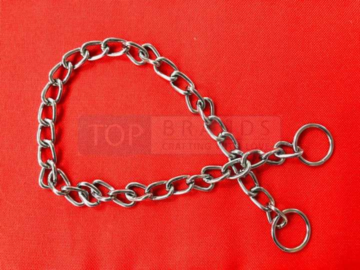 CHOKE CHAIN FOR DOGS - TRAINING COLLAR CHAIN - BEST FOR PIT BULL, DOBERMAN, MASTIF, GSD E.T.C.