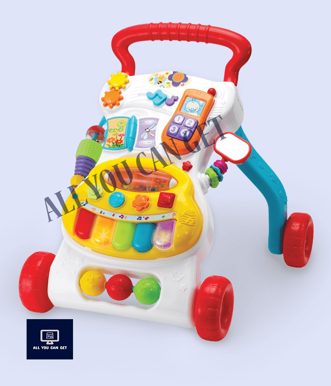Kids Grow-with-Me Musical Walker 6 - 30 Months 000804