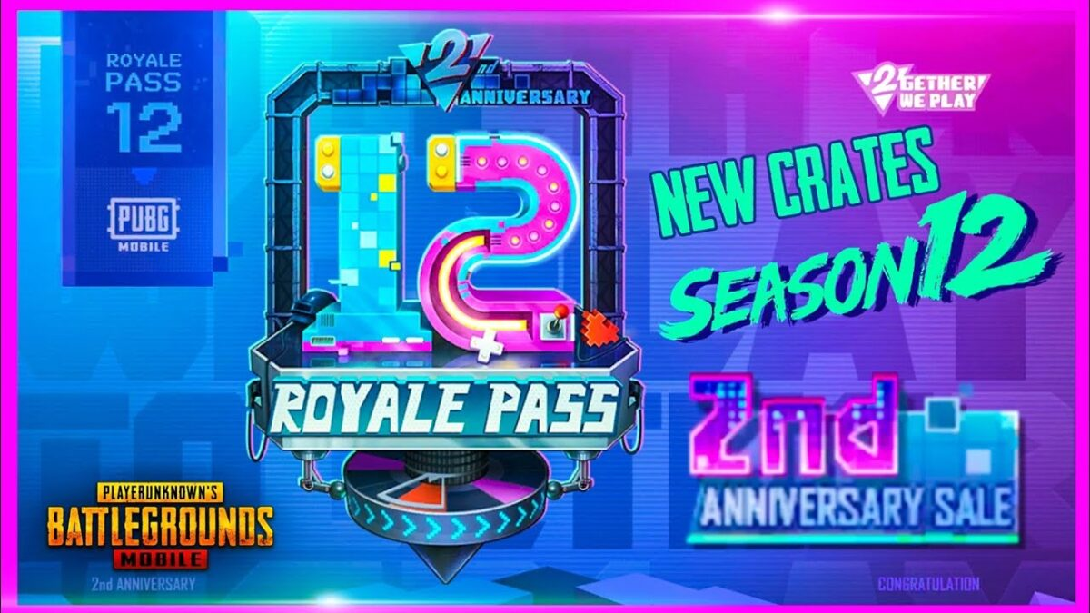 Royal Pass Season 12 + Free 169 Uc - Pubg Mobile TopUp (Unknown Cash)  - Fast Delivery