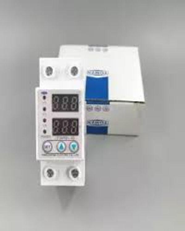 Original TOMZN 63A 230V Din rail adjustable over voltage and under voltage  protective device protector relay with 12 month warranty