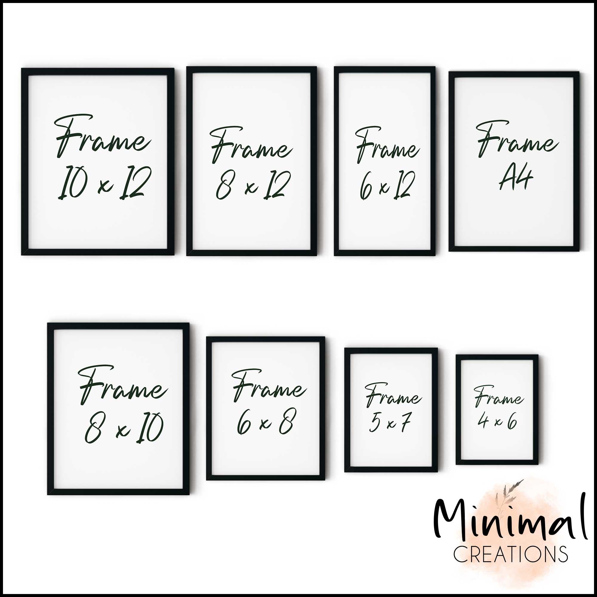 Single Minimalist Modern Rectangular Horizontal Customized Photo Frames Photo Wall Decoration Photo Frame Wall Art Hanging Home Decoration Picture Gallery for Living Room Study Room