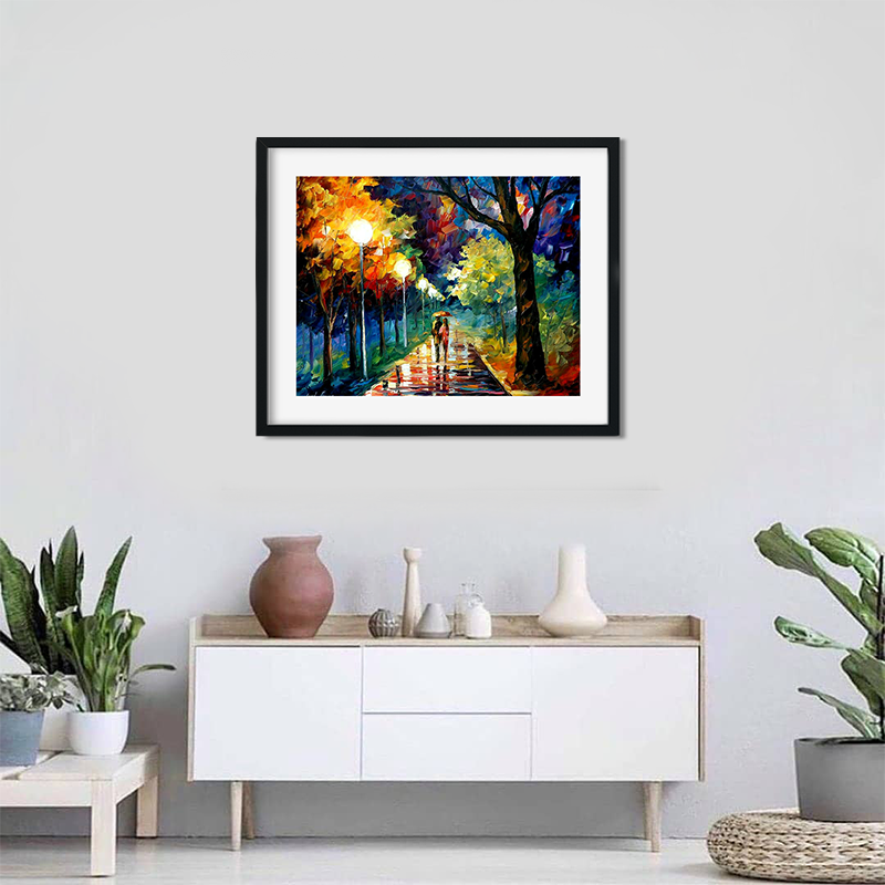 Love Bird By Leonid Afremov Painting Art Print For Home Decor Photo Frame Bedroom Wall Decor Ideas Buy Online At Best Prices In Pakistan Daraz Pk