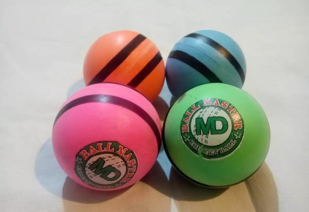 PU Dimple Tape Ball Street Cricket Ball 1 piece