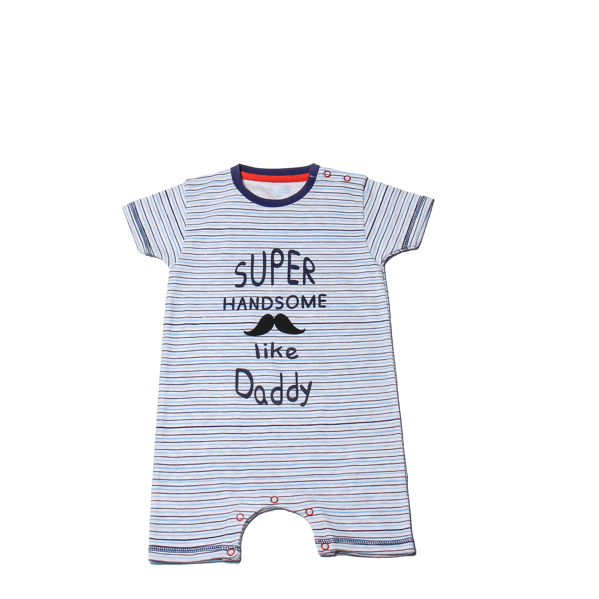 eae10938 Featherhead NewBorn Baby Bodysuits/Rompers for Boys made with 100%  Breathable Soft Cotton