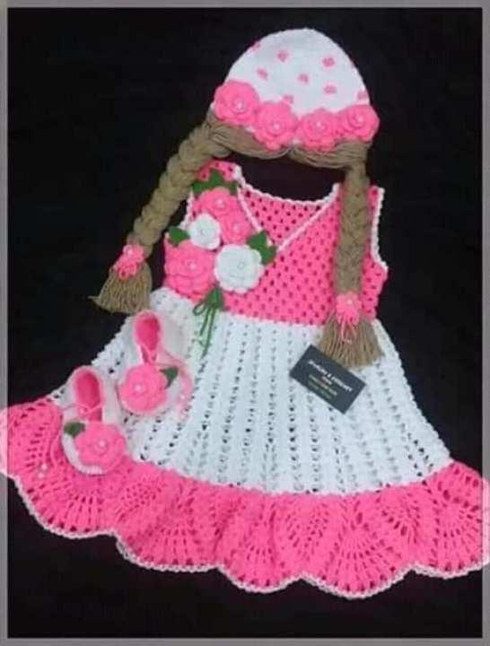 baby hand made dress 6-month 3 years