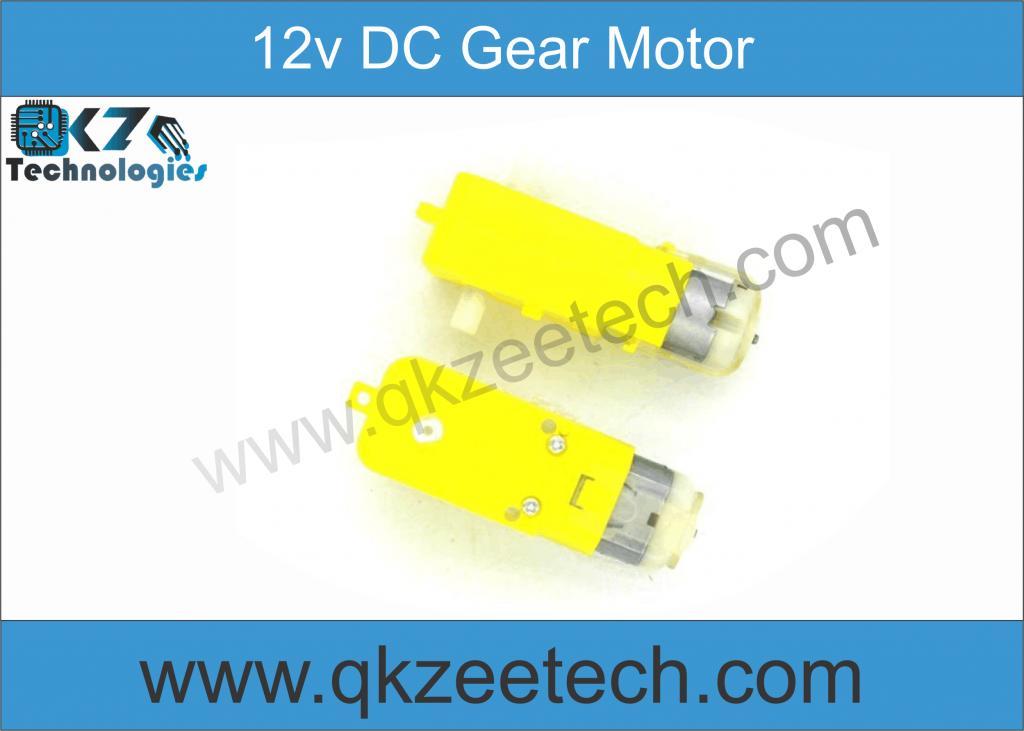 DC Gear Motor 3.7∼12v Dual shaft Smart Car Robot Gear Motor for Arduino